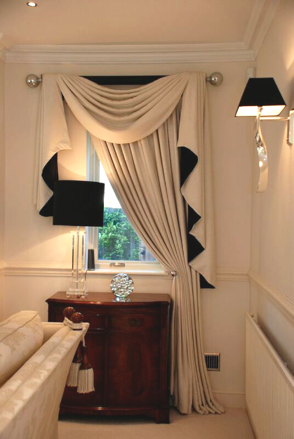 Professional-Tie-back-curtains-designed-and-hand-made-to-order-by-Cranbrook-Interiors-Ascot-Berkshire